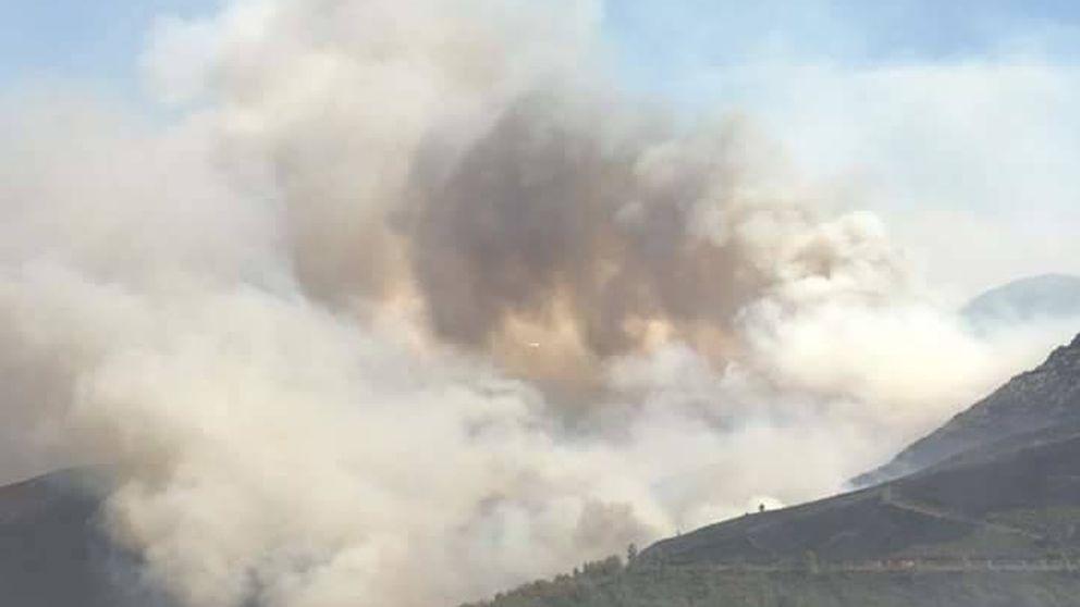 Los consejos de Emergencias de Asturias por los incendios: Evite salir a la calle