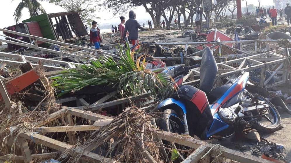 Foto: El tsunami y los seísmos de Indonesia, en imágenes