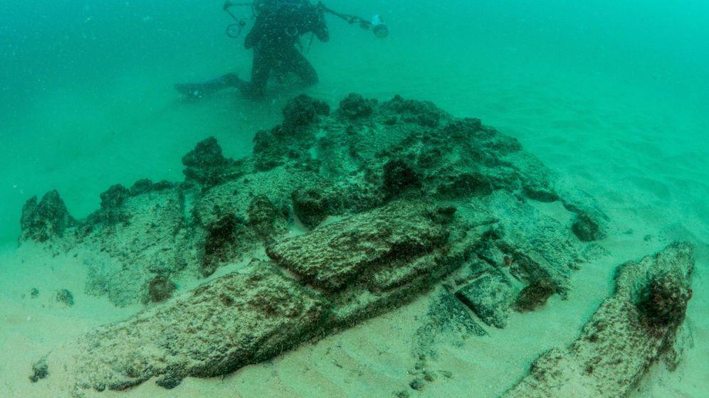 Foto: Así es la 'nau' del siglo XVI descubierta en el Tajo
