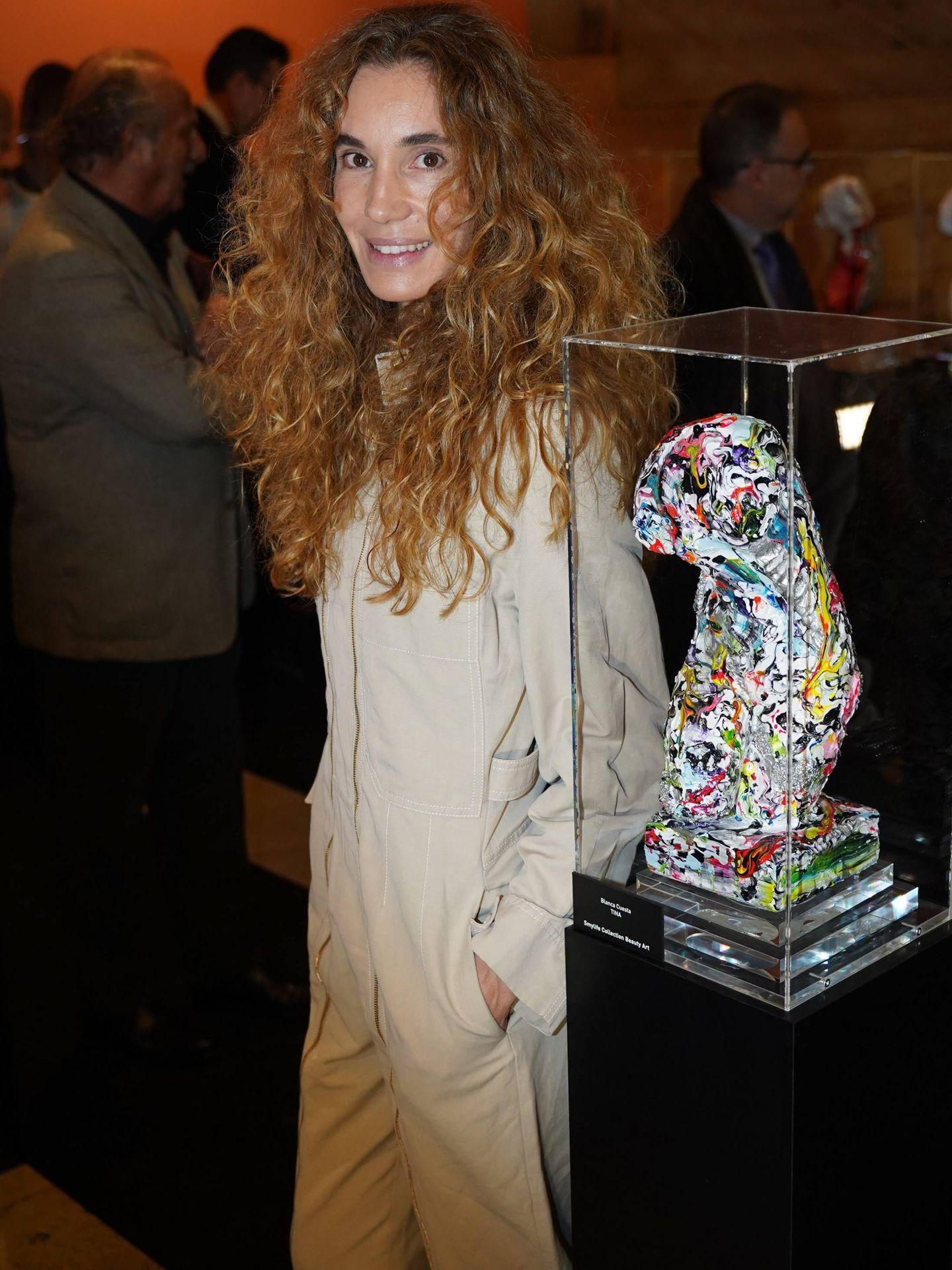 Blanca Cuesta, en la gala. (Cordon Press)