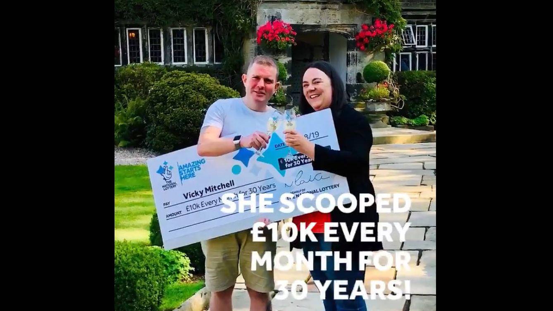 11.000 euros durante 30 años comprando lotería con el último saldo de su cuenta