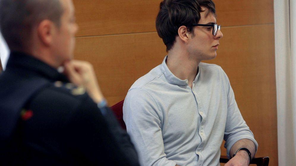 Foto: Patrick Nogueira a comienzos de su juicio en octubre de 2018. (Efe)