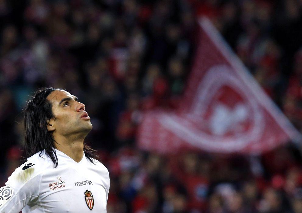 Foto: Falcao durante un partido con el Mónaco (Reuters).