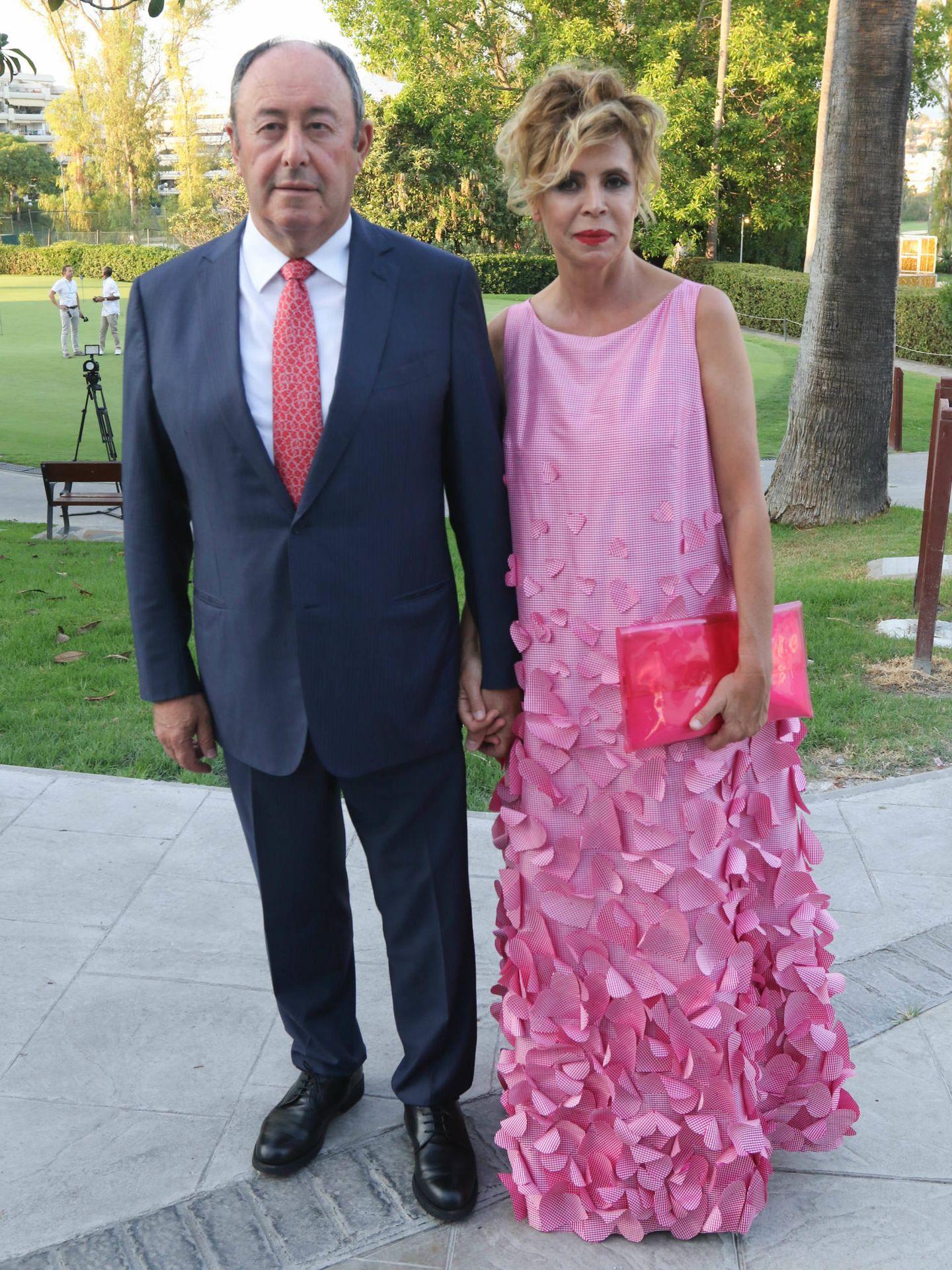 Luis Miguel Rodríguez y Ágatha. (Cortesía)