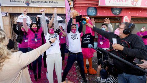 Lluvia de premios en San Pedro del Pinatar: el Gordo, un cuarto y dos quintos