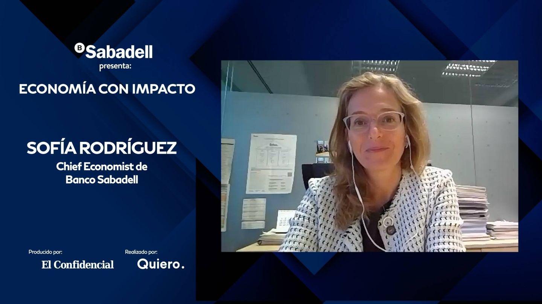 Sofía Rodríguez, economista jefe y subdirectora general de Banco Sabadell.