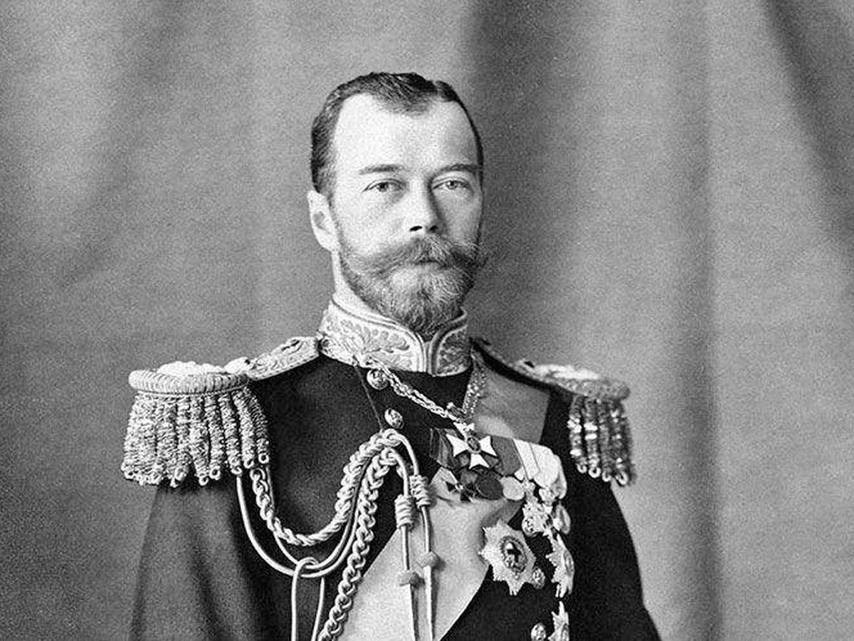 Foto: El zar Nicolás II.