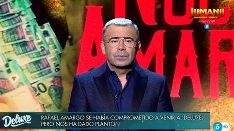 Jorge Javier descarga su ira contra Rafael Amargo por su plantón en el 'Deluxe'
