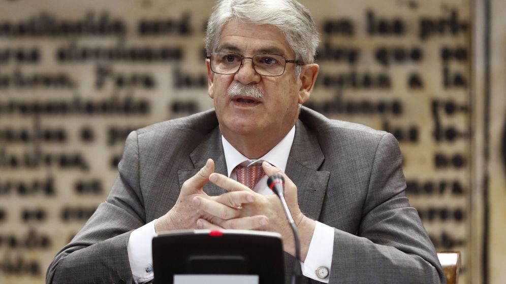 Foto: El ministro de Asuntos Exteriores, Alfonso Dastis. (EFE)