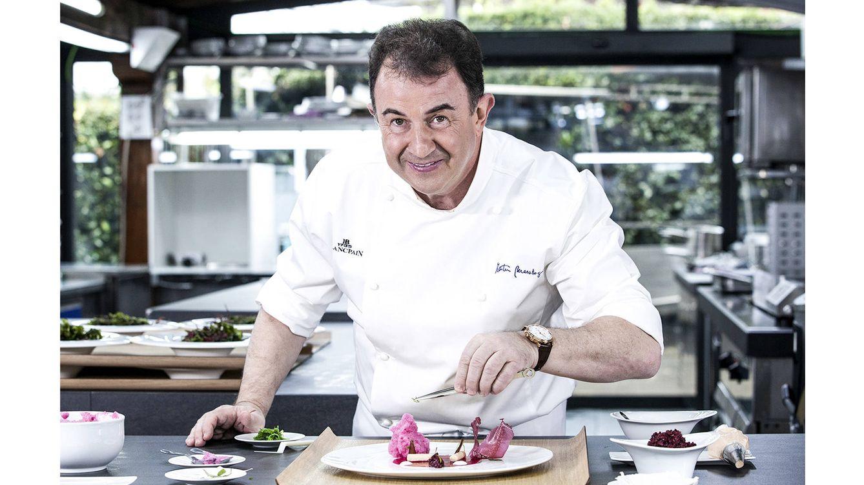 Foto: Martín Berasategui es el último gran chef mundial en incorporarse a  la lista de amigos de Blancpain.