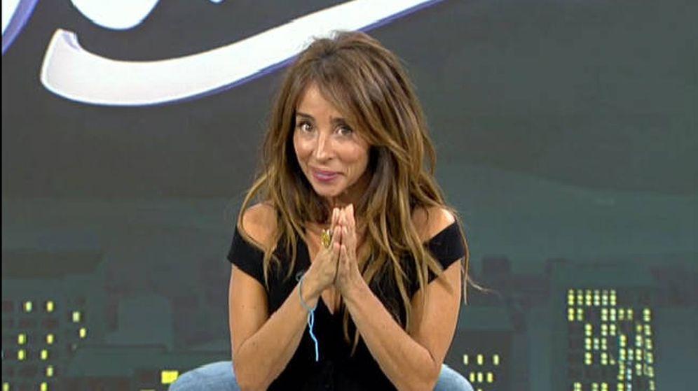 Foto: María Patiño en 'Sálvame Deluxe'