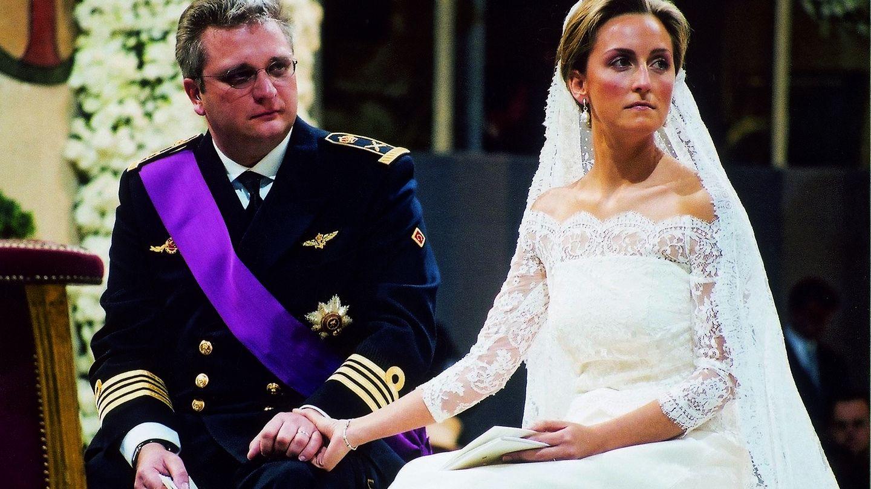 Boda del príncipe Laurent y Claire. (CP)