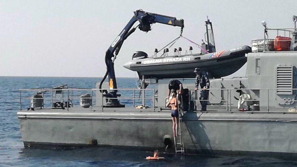 La mujer que pasó 10 horas en el mar saltó voluntariamente del crucero, según testigos