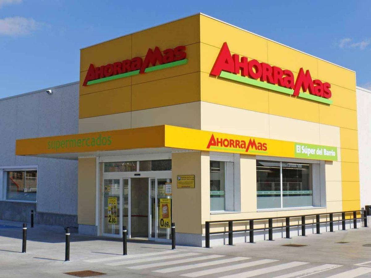 Foto: Ahorramas es la segunda cadena con más ventas por metro cuadrado de España.