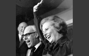 Foto: Fallece Margaret Thatcher