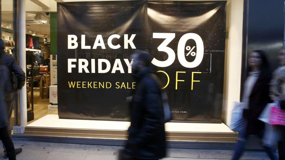 Foto: 'Black Friday' en Londres (Reuters)