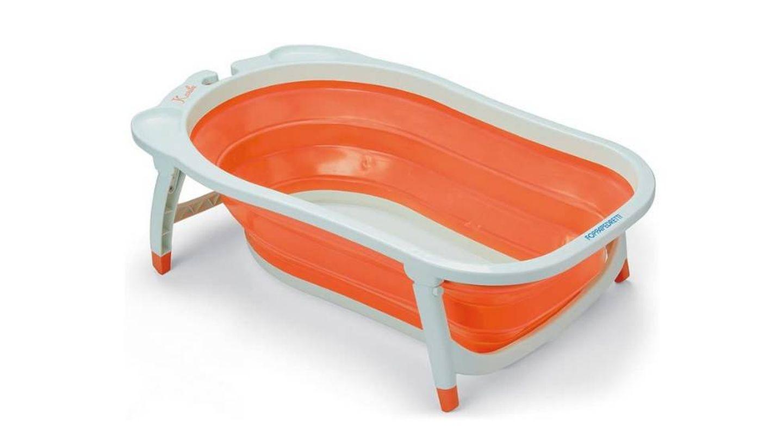 Bañera plegable para bebé con tapón termosensible Foppapedretti