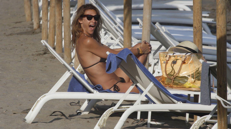 Mónica Pont, en Marbella. (Gtres)