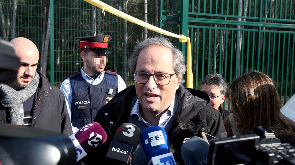 Torra, al Rey: En Cataluña no hay un problema de convivencia sino de justicia