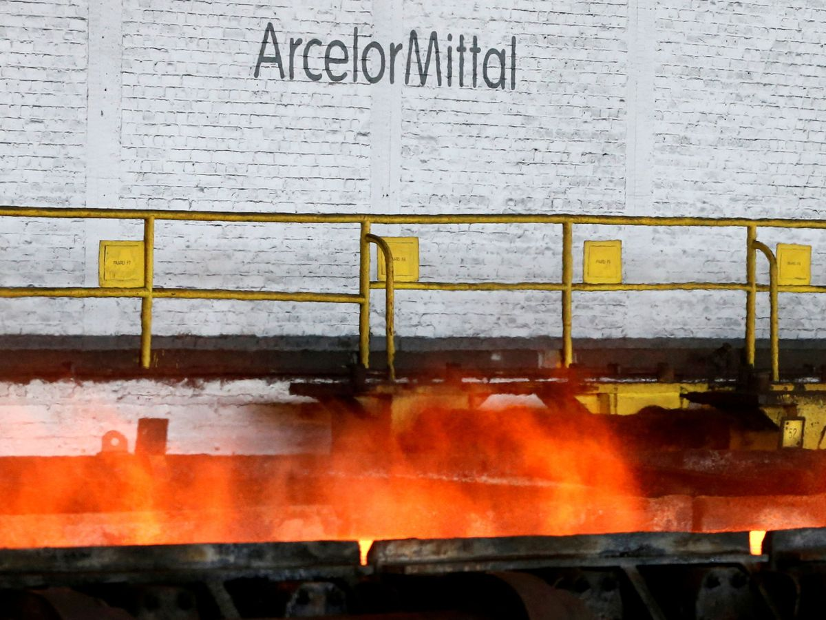 Foto: Planta de ArcelorMittal en Gante, Bélgica (Reuters)