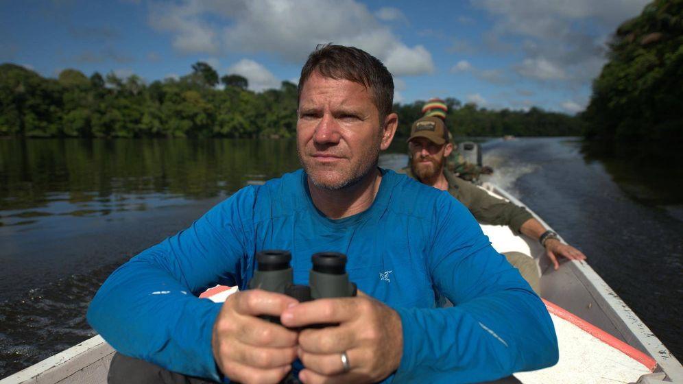 Foto: Steve Backshall, protagonista de la serie 'Expedition'. (Fremantle)