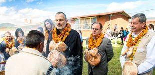 Post de Serio, místico, comprometido: Miguel Bosé reaparece ajeno al caso Nacho Palau