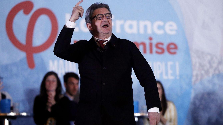 Mélenchon anuncia su candidatura para las elecciones presidenciales francesas de 2022