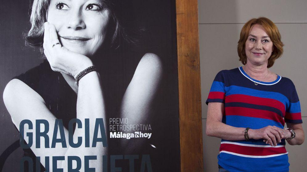 Foto: Gracia Querejeta en el Festival de Málaga (Efe)
