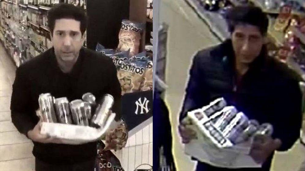 Foto: El parecido entre el actor y el ladrón es más que razonable (Foto: Twitter)