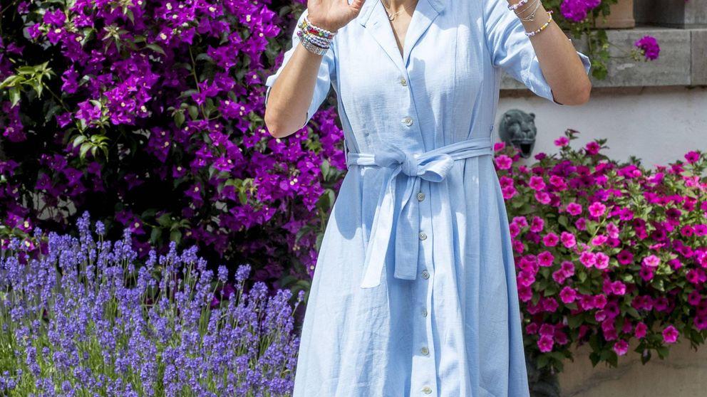 La visita fugaz de Victoria de Suecia a Mallorca (y no para ver a Felipe y Letizia)