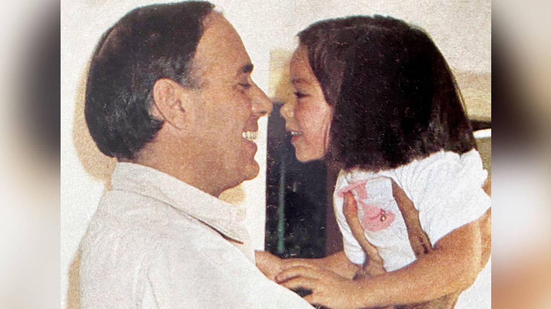 Carlos Falcó, con su hija Tamara. (IG)