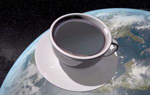 Tomarse un café en el espacio