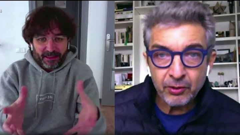 Jordi Évole y Ricardo Darín. (La Sexta)