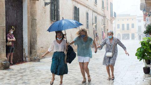 Llueve en Menorca