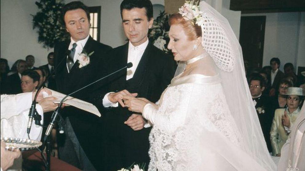 Rocío Jurado y Ortega Cano, una boda de copla veinte años después