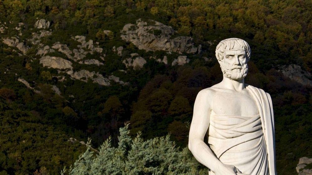 Foto: Estatua de Aristóteles en Estagira. (iStock)