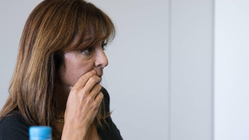 Foto: Olga Jiménez, presidenta de la comisión de garantías de Podemos electa en Vistalegre II. (Ernesto Torrico)