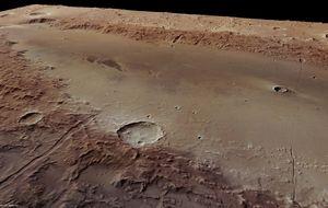 Los sulfatos revelan que un cráter de Marte pudo contener un lago