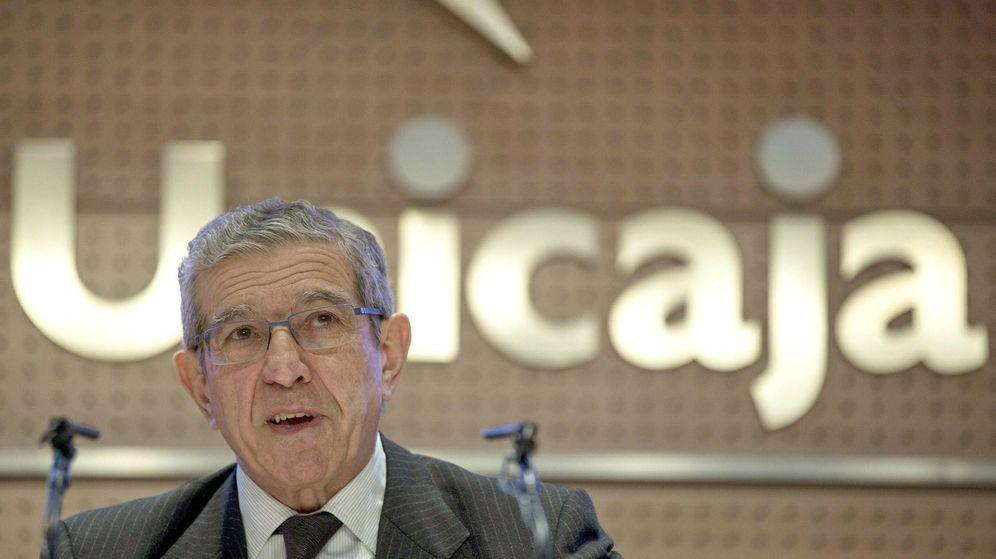 Foto: Fotografía de Archivo, tomada el 25 de marzo de 2013, del presidente de Unicaja Banco, Braulio Medel. (EFE)