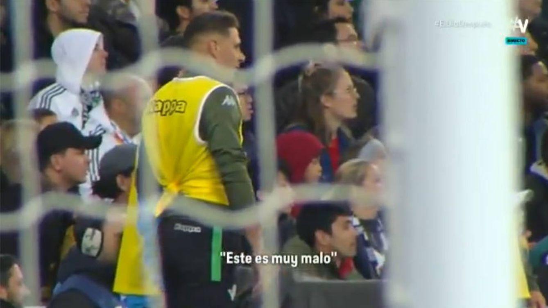 Joaquín, pillado tras ver a Vinícius frente al portero del Betis: Este es muy malo