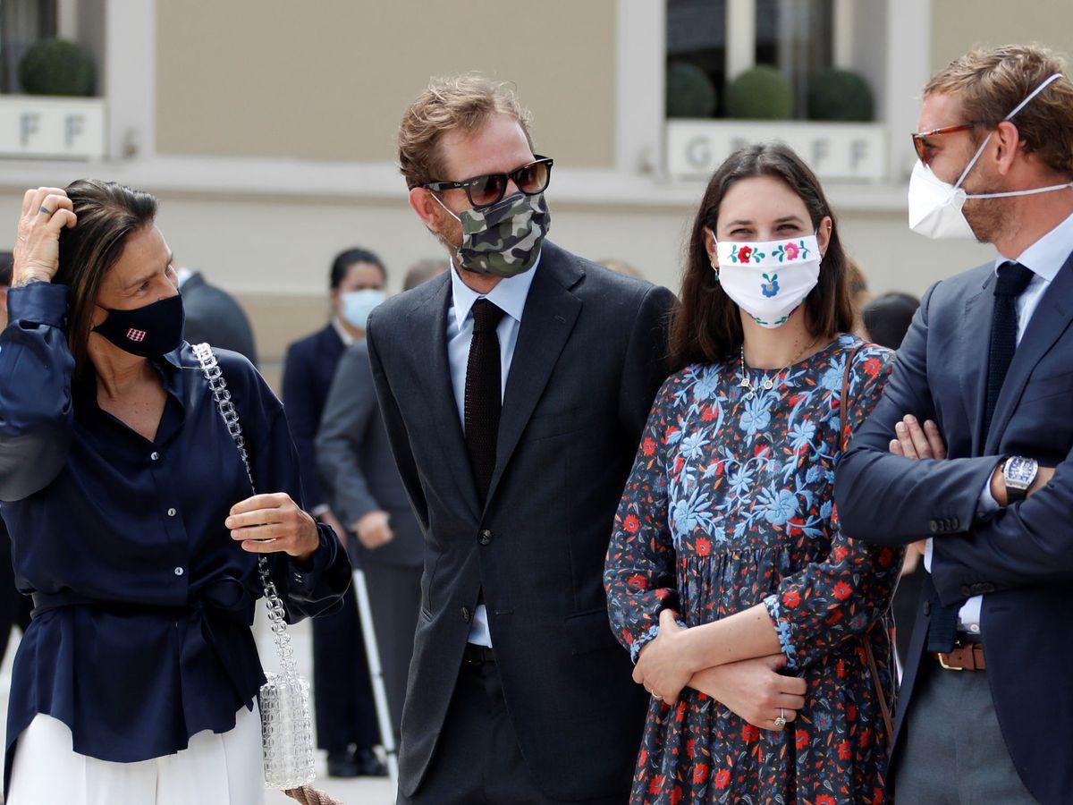 Foto: Parte de la familia Grimaldi reunida en Mónaco. (Reuters)