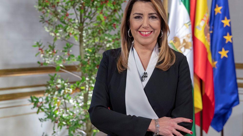 Foto: Susana Díaz se queda de jefa de la oposición. (EFE)