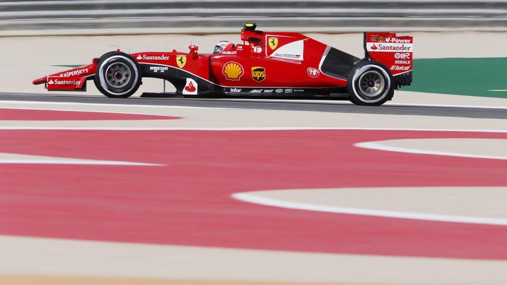 Ferrari, de nuevo con el aliento en el cogote de los dos Mercedes