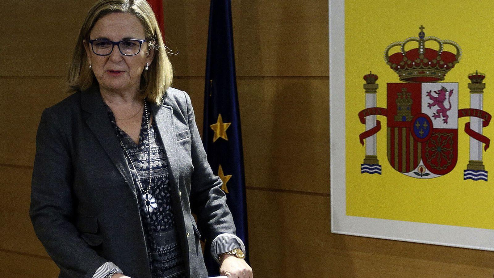 Foto: La secretaria de Estado de Economía, Irene Garrido. (EFE)