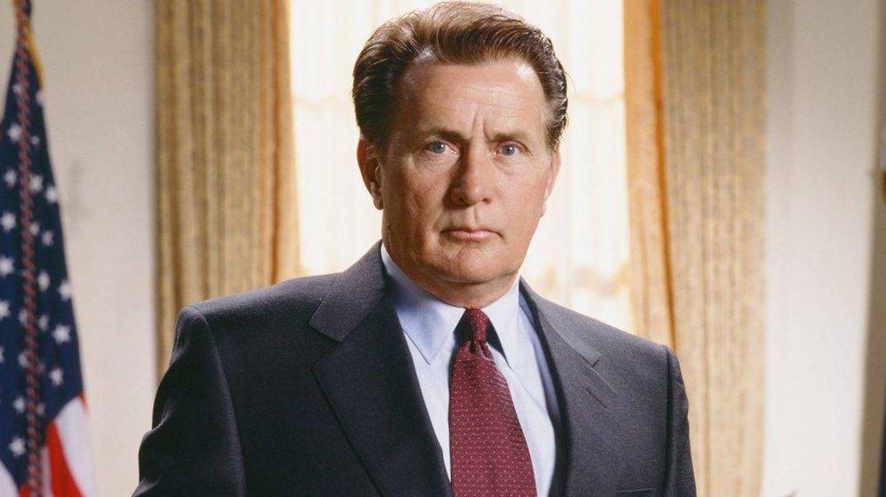 Foto: Martin Sheen, como Josiah Bartlet en la serie 'El Ala Oeste de la Casa Blanca'.