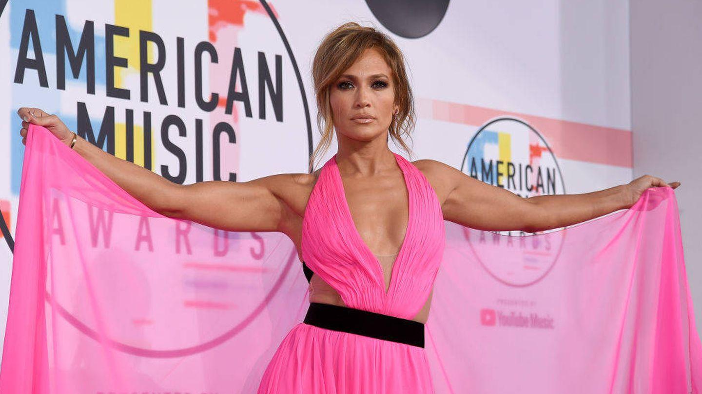 Jennifer López en los American Music Awards (Foto de Kevork Djansezian/Getty Images para dcp).