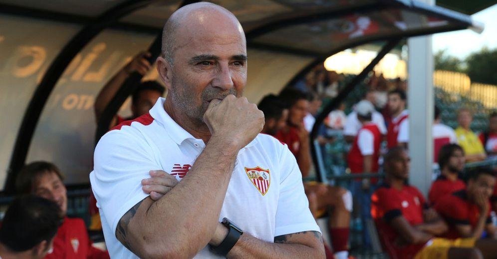 Foto: El Sevilla de Sampoli está transmitiendo muy buenas sensaciones en estos primeros días de pretemporada (EFE)