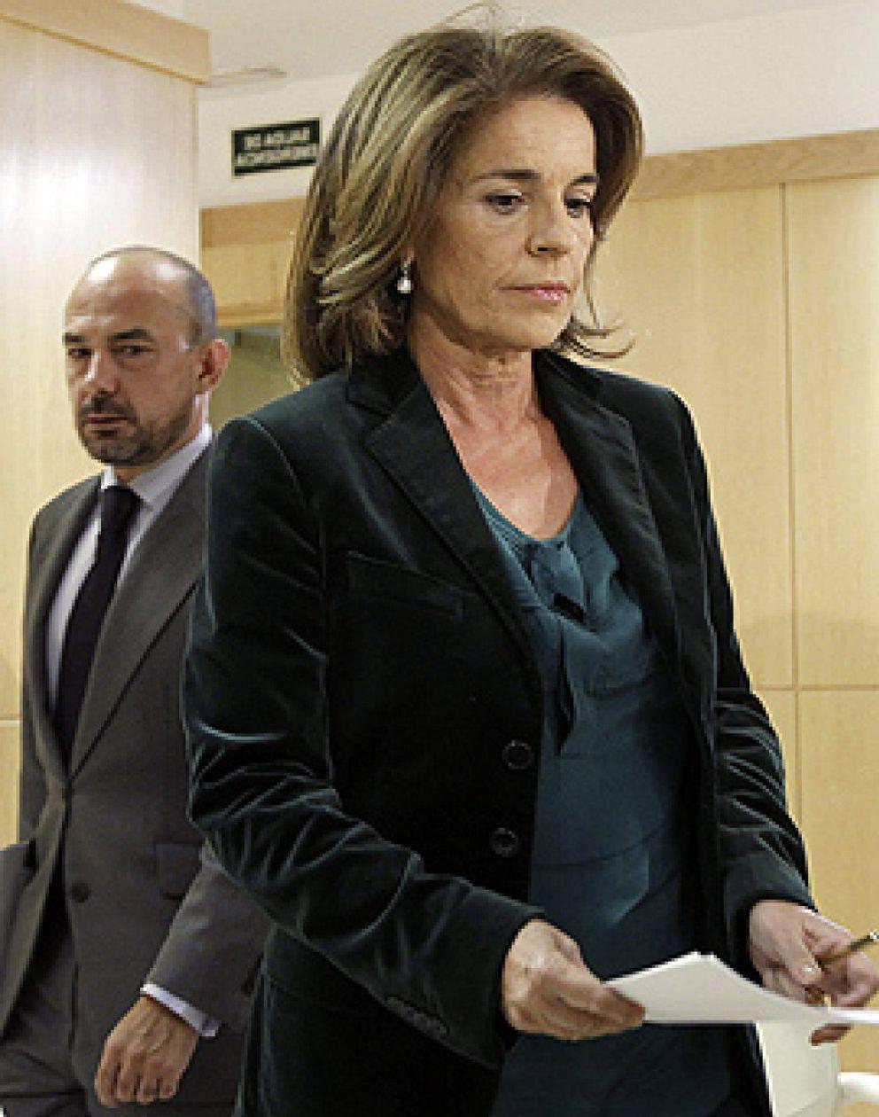 Foto: El PP veta la comparecencia de Ana Botella en la comisión de investigación del Madrid Arena