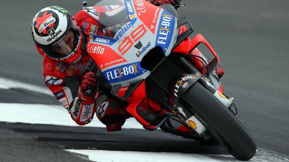 Lorenzo hace la 'pole' en su querido Misano y Márquez se da una carrera infructuosa