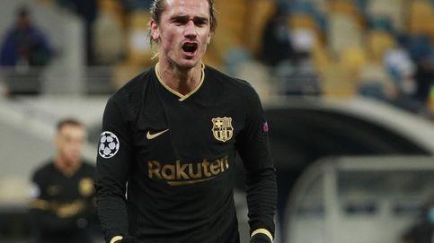 El Barça cumple el trámite sin Messi y Griezmann baila por marcar el 0-4